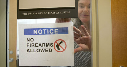 Should Texas profs have a say over guns in their classrooms?