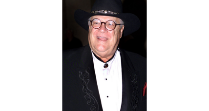 David Huddleston appeared in acclaimed comedy 'Blazing Saddles'