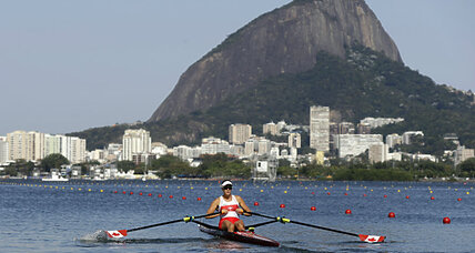 Rowers at Rio get off to a choppy start amid high winds