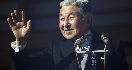 Akihito to give rare video message following talk of abdication