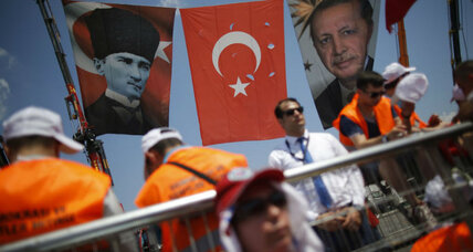 Why Turkey's conservative leadership is embracing a secular hero, for now