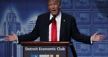 Trump economic speech: first step to unifying GOP (+video)