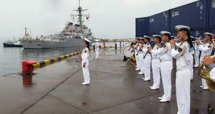 US destroyer visit latest twist in China-US military ties