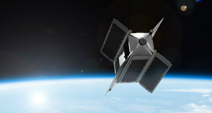 Virtual space tourism? Company to launch first VR satellite.