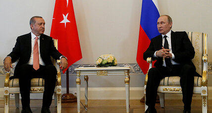 As Russia and Turkey seek closer ties, not all the leverage in Kremlin's hands