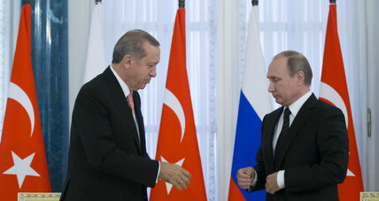 In second official visit, what does Turkey want from Russia?