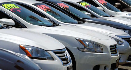 Six million borrowers are behind on car payments. Housing bubble redux?