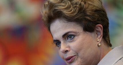In setback for Brazil's Rousseff, Senate puts her on trial