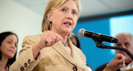 Clinton's ethical slip violates spirit but not letter of law. Does that matter?