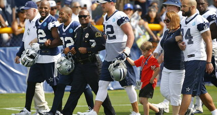 NFL turns down Cowboys' wish to sport decals in support of Dallas police