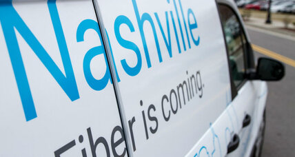 Google Fiber's plan: disrupt telecom's hold on broadband