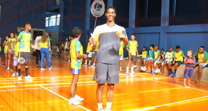 How a favela kid became Brazil's top badminton player