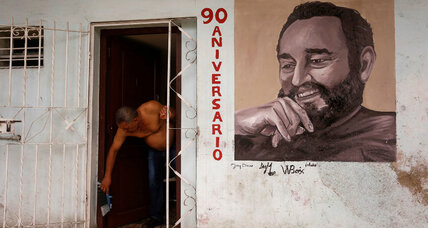 On his 90th birthday, Fidel Castro plays the skeptic to a changing Cuba