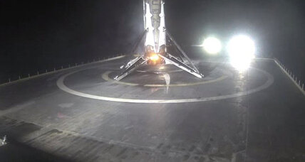 Barge landing No.6: SpaceX Falcon 9 rocket sticks another landing