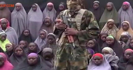 New militant video shows abducted Nigerian girls