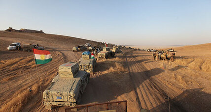 Iraqi Kurds take several villages on advance towards Mosul