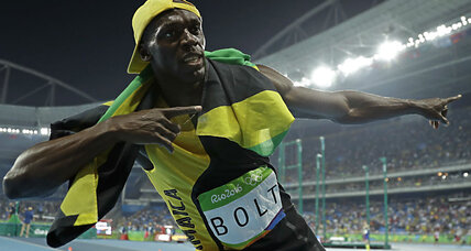 Usain Bolt sprints to another gold medal