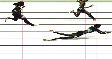 Say what you will about Shaunae Miller's dive, but it was legal