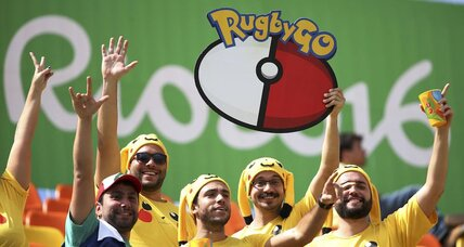 Pokémon Go hits Rio, and for some, gaming outweighs the Games