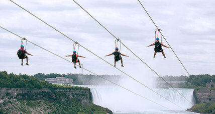 Will zip lines bring extreme adventurers to Niagara Falls?