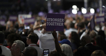Stronger together? Yes, Mrs. Clinton, but what does 'together' really mean?