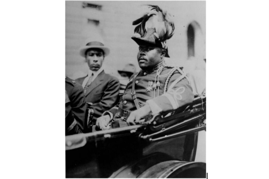 why did civil rights leaders disagree with marcus garvey
