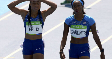 After bungling hand-off, US women's 4x100m relay gets a second chance