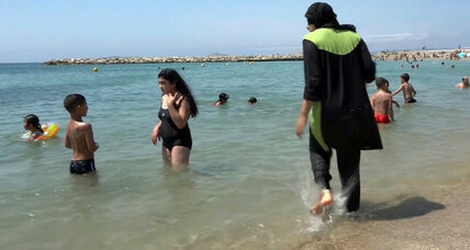 French burkini debate grows, raising questions about 'liberté' of choice
