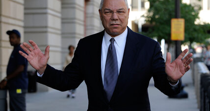 Colin Powell says he told Hillary Clinton about using personal email account