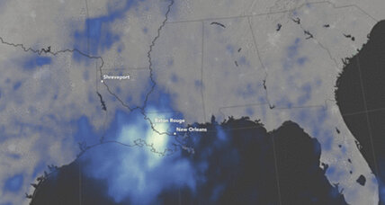 How scientists measure Louisiana's flooding from space