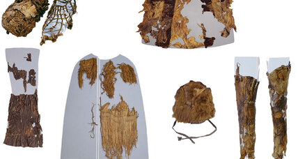 Retro fashion: Scientists examine Ötzi the Iceman's wardrobe