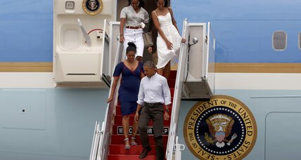 After vacationing with his family, President Obama returns for a busy fall