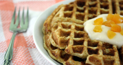 It's National Waffle Day? Sweet. Celebrate with carrot cake waffles