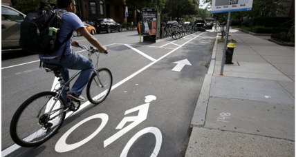 Is this the future of bike lanes?