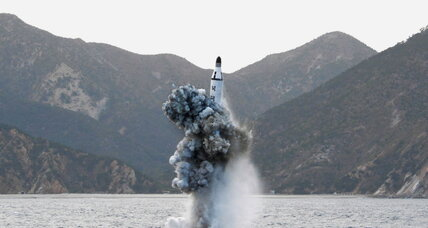 Why North Korea just fired an underwater missile toward Japan
