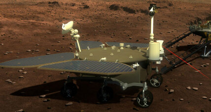 China sets its sights on Mars