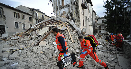 Strong earthquake rattles Italy, killing at least 38 people
