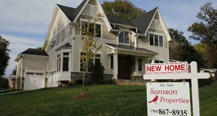 Existing home sales fall, while new home sales reach nine-year high