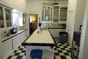 The Kitchen Of Rose Hill Manor In Port Arthur, Texas.
