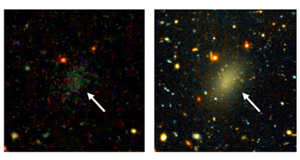 Astronomers discover a dark-matter galaxy: Dragonfly 44