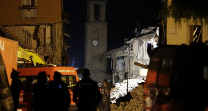 Italy quake toll hits 250 as rescuers search flattened towns