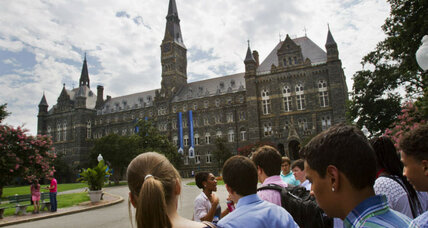 To atone for past ties to slavery, Georgetown tries something new (+video)