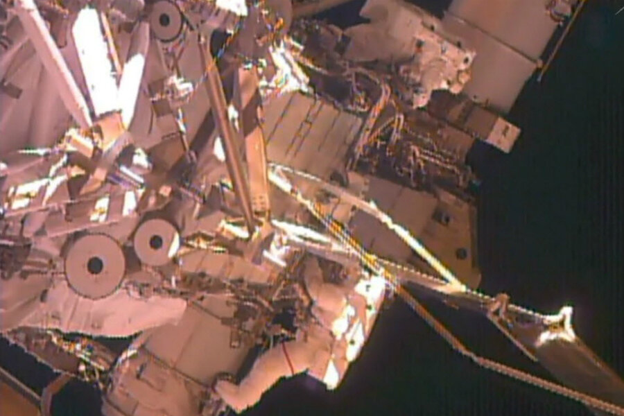 What does it take to keep a space station running?