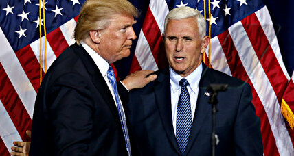 Can Mike Pence fix Trump's problem in Utah?