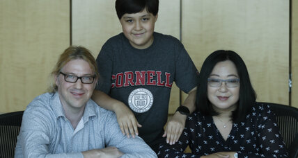 Cornell University's youngest freshman is a 12-year-old boy (+video)