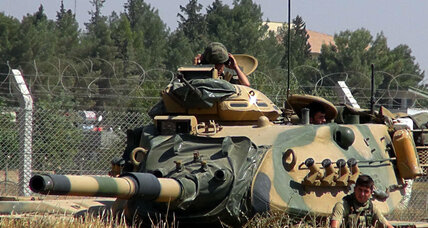 Turkey sends at least 20 tanks into Syria