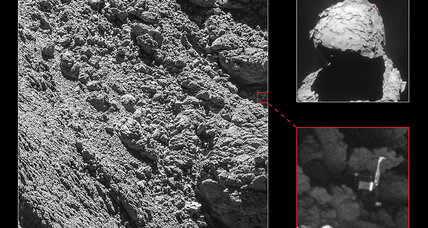 ESA finds lost Philae lander just in time to crash it into a comet