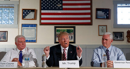 Trump makes Labor Day pitch to union workers. Can he win them over? (+video)