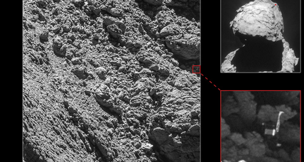 Lost and found: Tiny Philae space probe discovered on comet