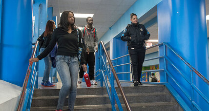 What happens when cops become hallway monitors